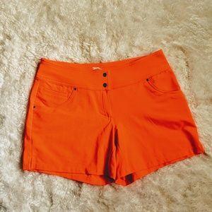 Slazenger golf shorts, Coral Orange, size 2